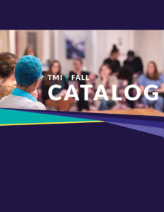 TMI Fall 2019 Catalog cover
