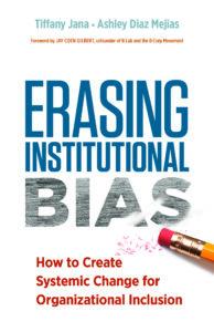 Erasing Institutional Bias Cover