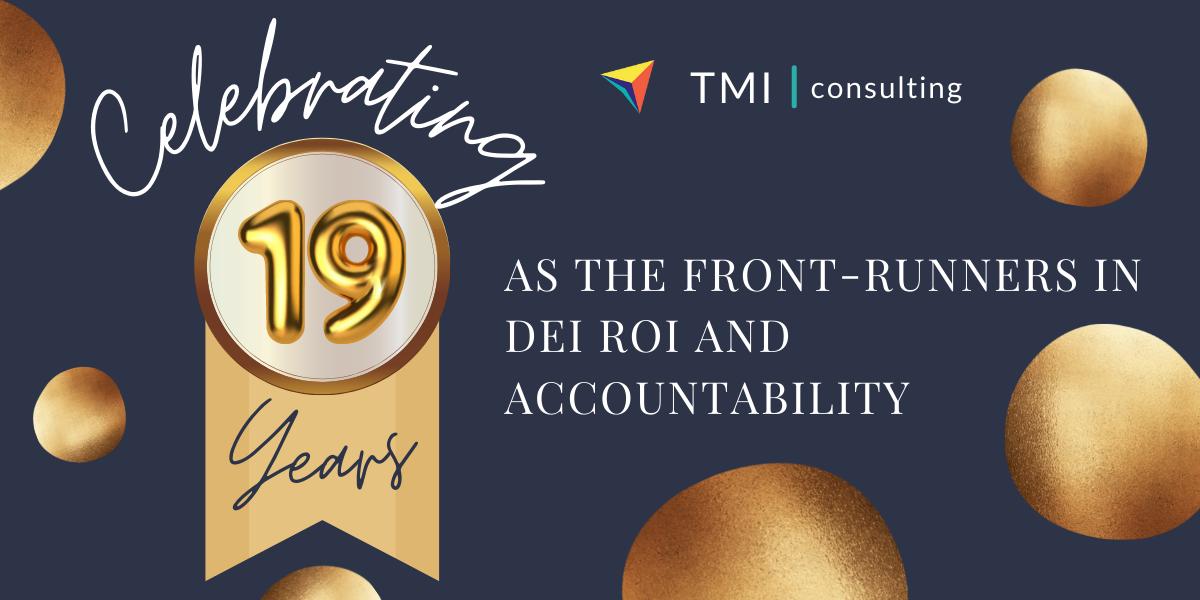 19 years celebration banner